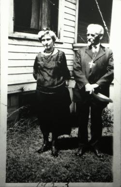 Rev. William Bergholz, Emilie Bergholz